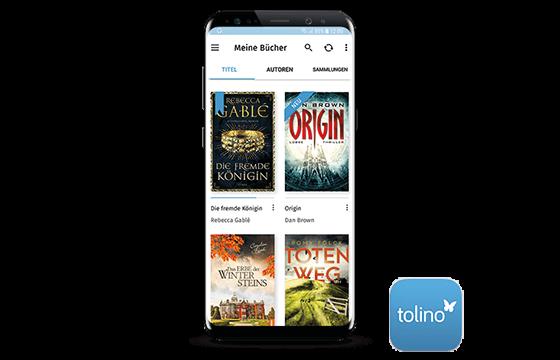 tolino app mit Logo